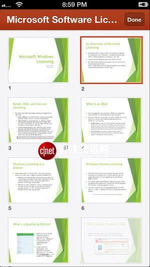绑架Office 365用户 iPhone版Office视觉图赏
